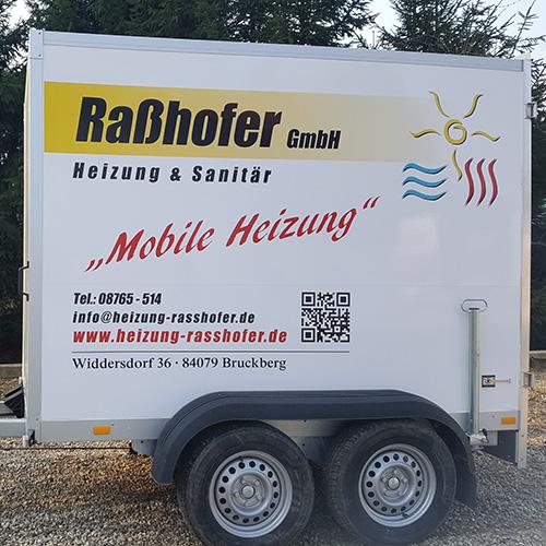 Mobile Heizungen